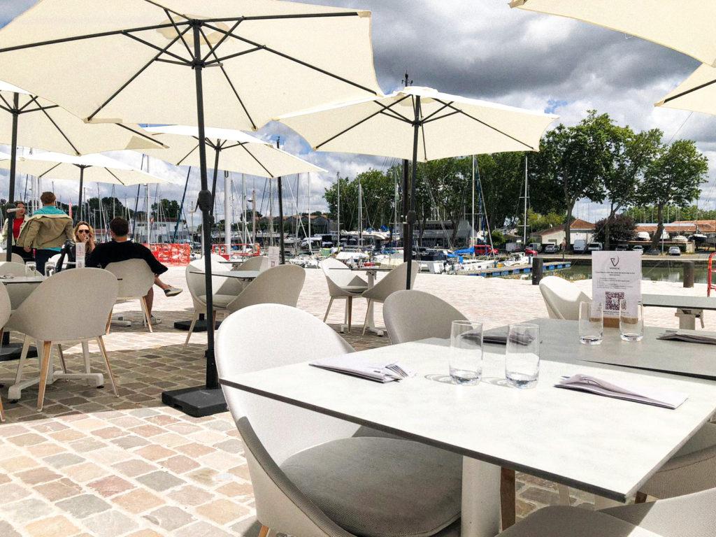 Terrasse - bar à vins - Vivre[s]