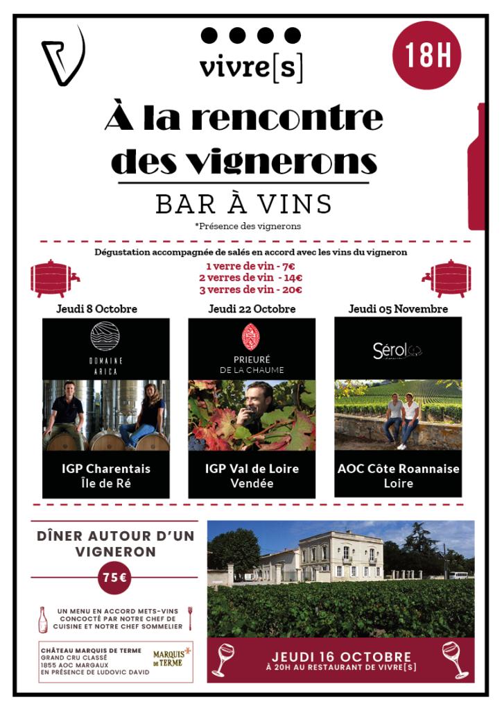 Planning Vignerons